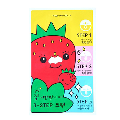 TONYMOLY 3 Step Nose Pack