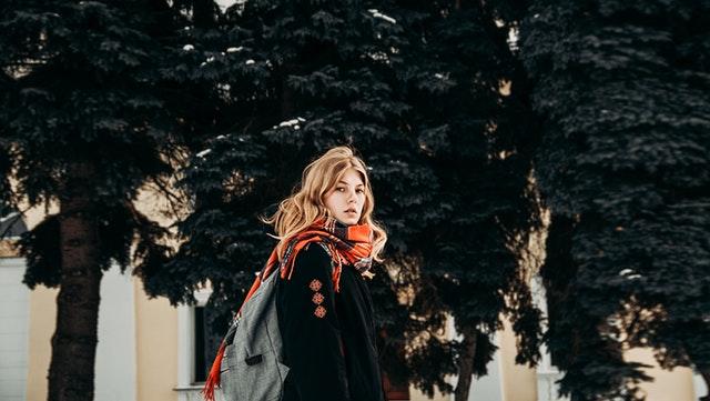fall fashion scarf