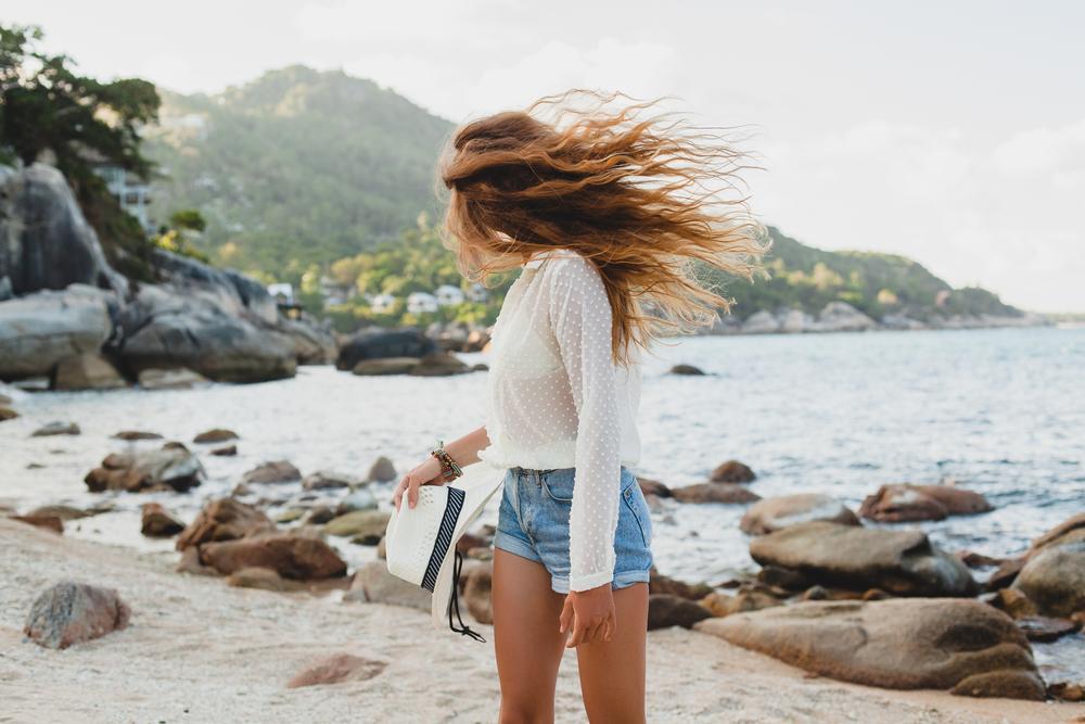 How to Get Natural Beach Hair