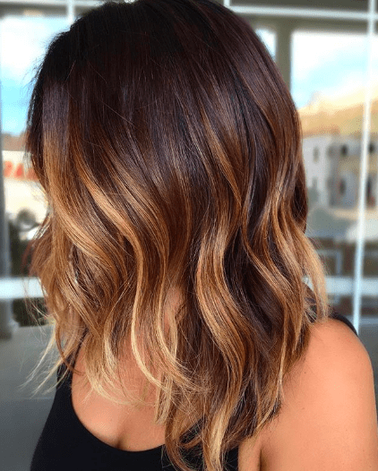 We're Obsessed With This Caramel Hair Color