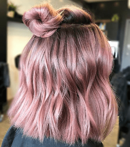 How To Get a Rose Gold Hair Color